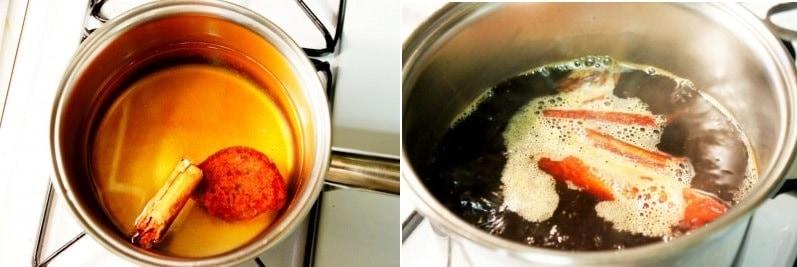 Instrucciones para preparar café de olla