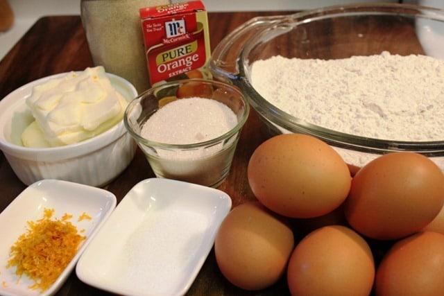 Rosca de Reyes, ingredientes