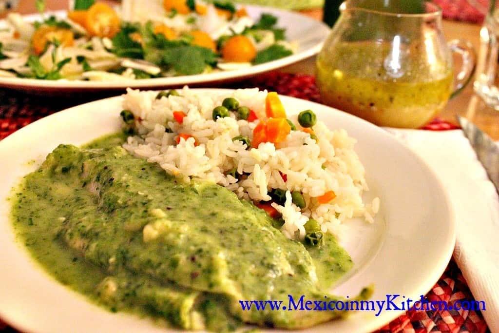 Filetes de pescado en salsa de perejil disfruta de esta for Comida para tilapia