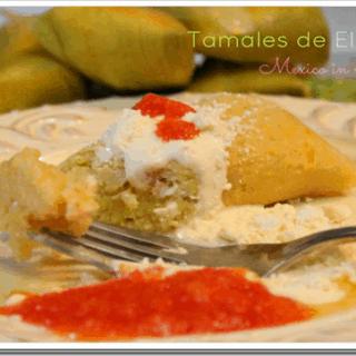 Tamales de elote, uchepos o chuices