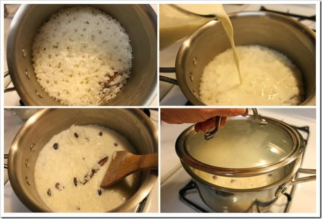 prepara esta deliciosa receta Arroz con Leche