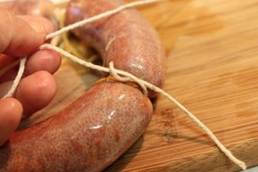 Chorizo Mexicano procedimiento