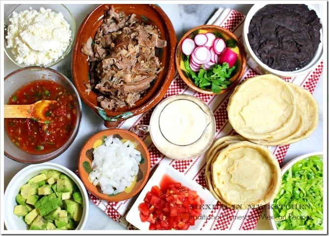sopes ingredientes