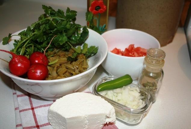 Cómo Cocinar Nopales, deliciosa ensalada