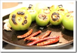 Asa los chiles y los tomates, Costillas o Agujas de Res