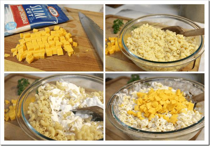 Ensalada de Pollo, instrucciones para la sopa de coditos