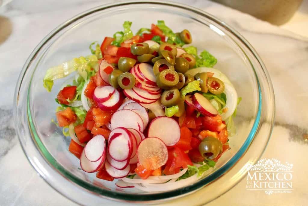 Salpicón de res, disfruta de esta deliciosa ensalada
