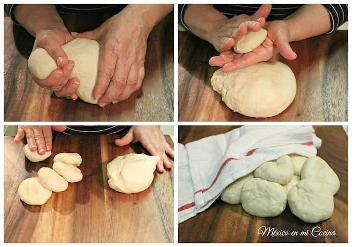 tortillas de harina, receta detallada con fotos y vídeo.