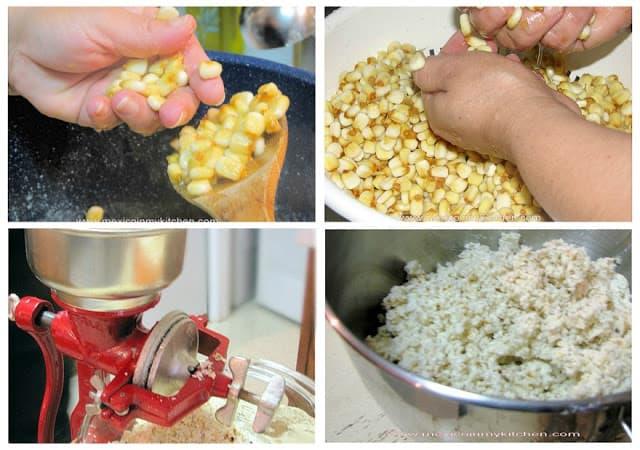 disfruta de esta sencilla receta masa de maíz nixtamalizado