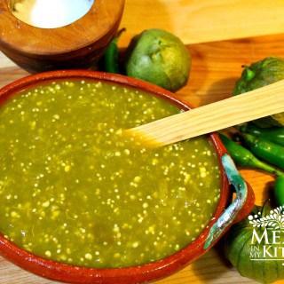 salsa verde receta