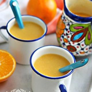 Atole de naranja