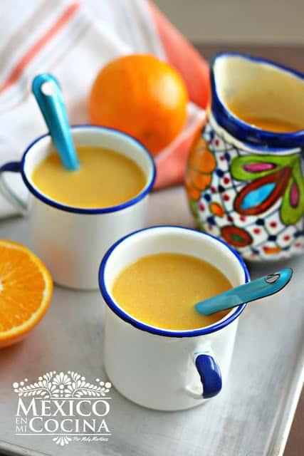 Atole de Naranja | Recetas de Comida Mexicana