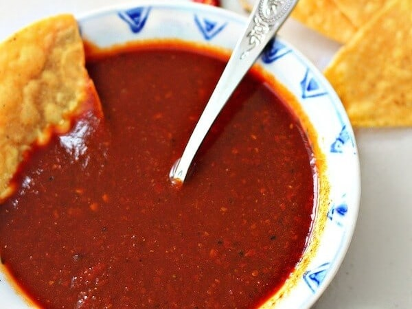Receta Salsa roja para tacos