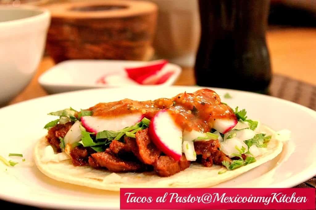receta tacos al pastor