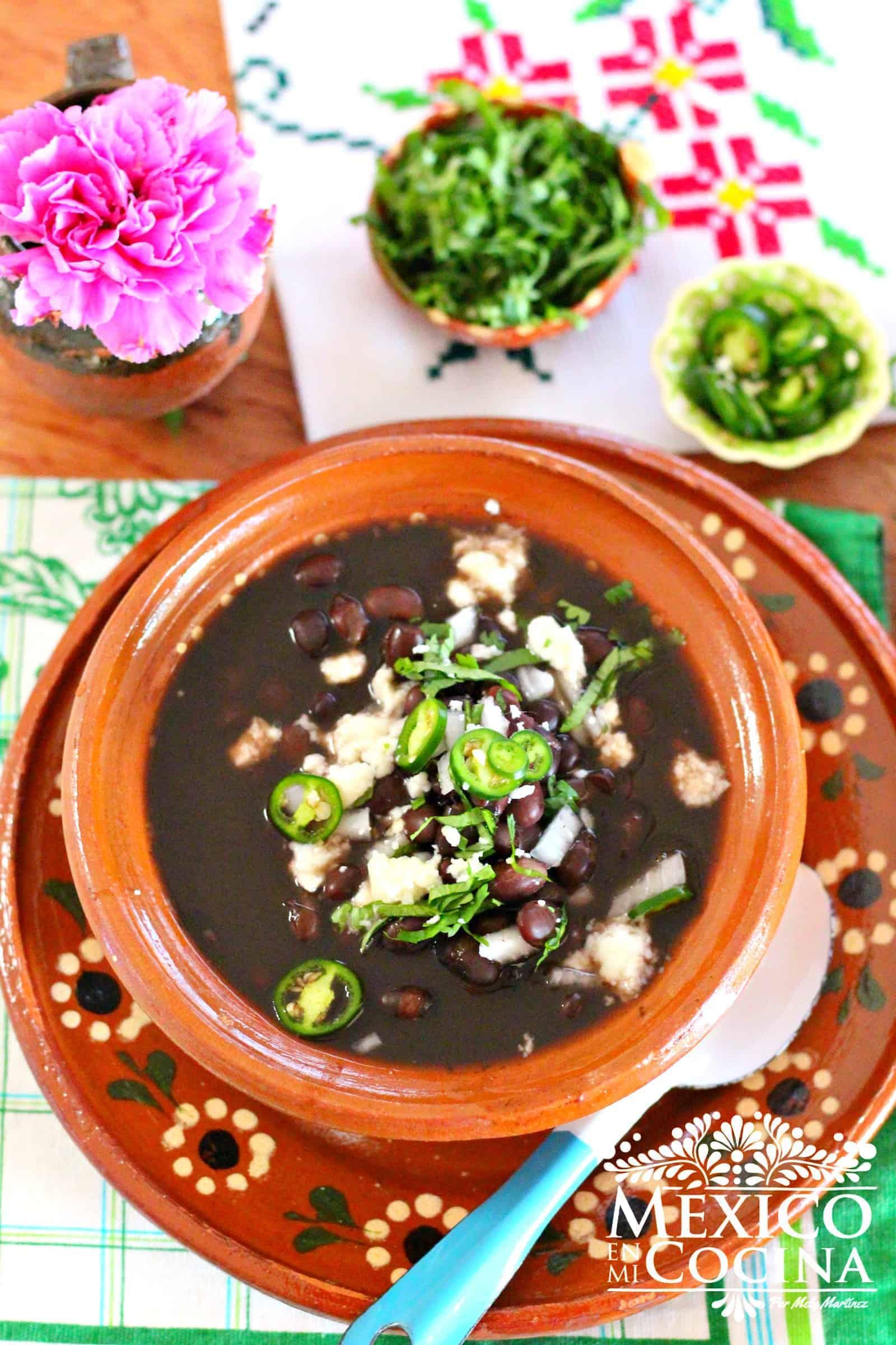 Frijoles de la Olla Receta Mexicana