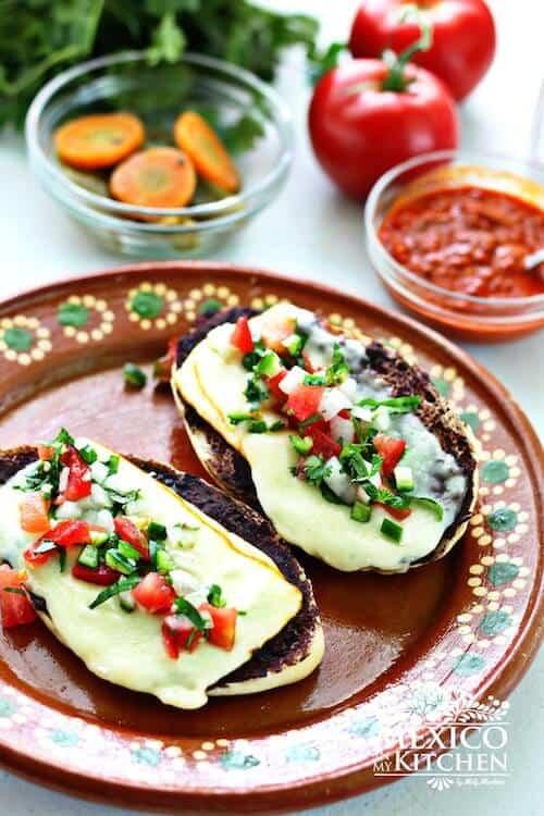 Molletes deliciosos │comida mexicana