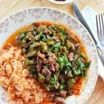 Cómo hacer Nopales con carne molida