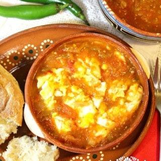 Huevito en salsa