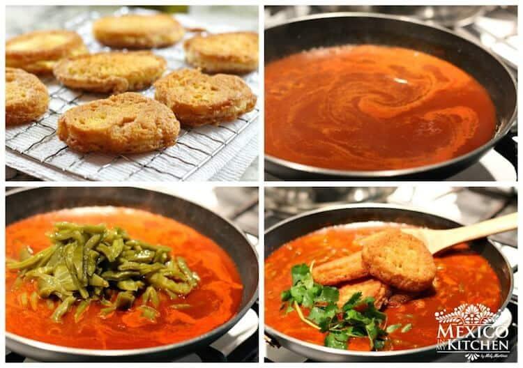 prepara esta sencilla receta y compártela con tu familia │Receta tortitas de camarón en salsa roja