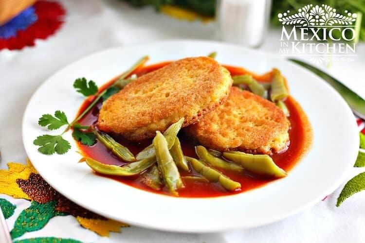 Recetas de comida mexicana │Receta tortitas de camarón en salsa roja