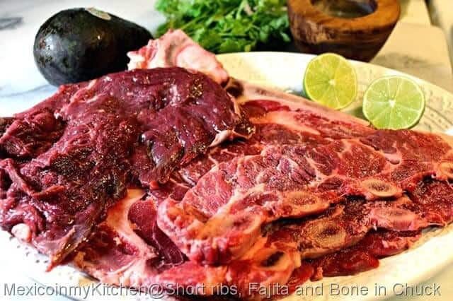 Carne Asada, ingredientes