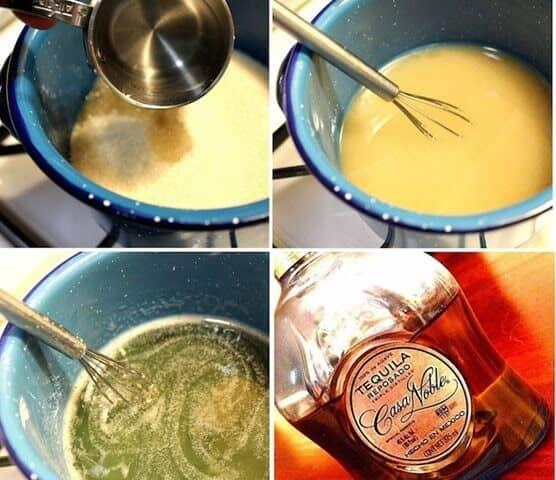 Instrucciones paso a paso, Cóctel margarita