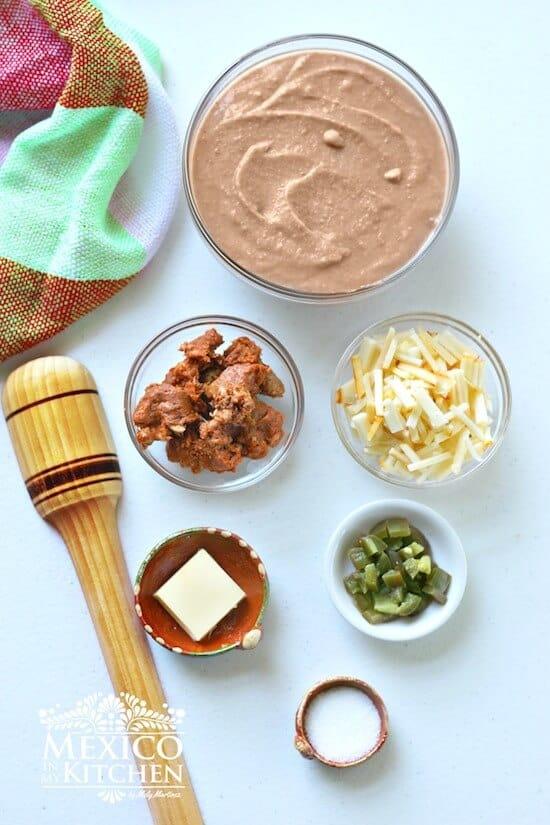 Frijoles Puercos, ingredientes receta muy fácil