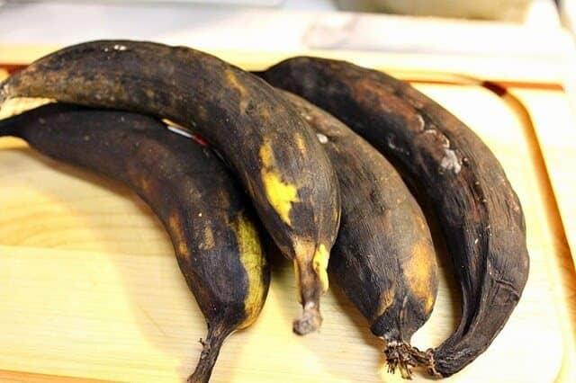 Plátanos Fritos muy maduros