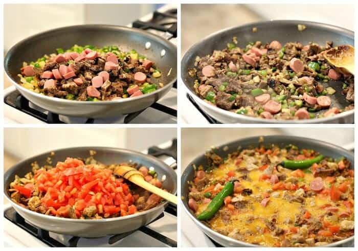 Sigue estos sencillos pasos para preparar esta receta Discada Norteña