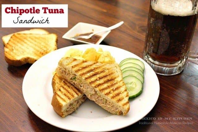 Sándwich de Atún con Chipotle