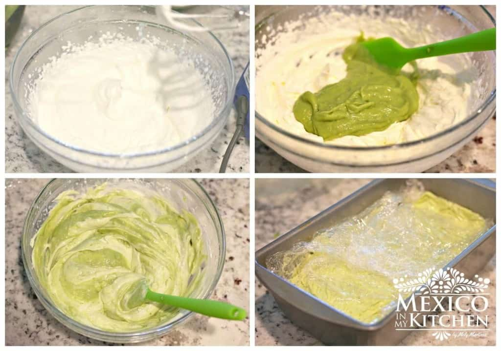 Nieve de Aguacate, sigue este sencillo tutorial