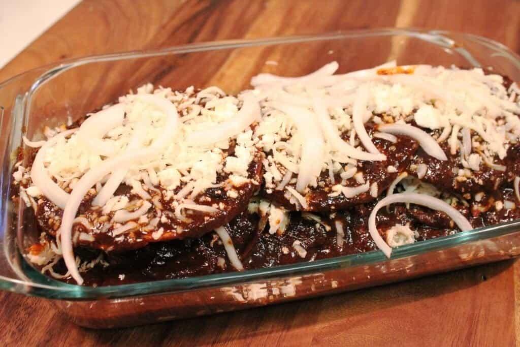 Pastel azteca de Mole, tutorial gratis