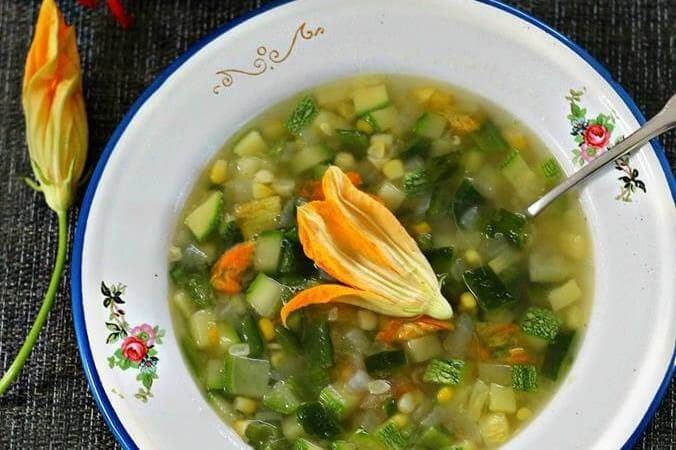 Receta Sopa de Milpa