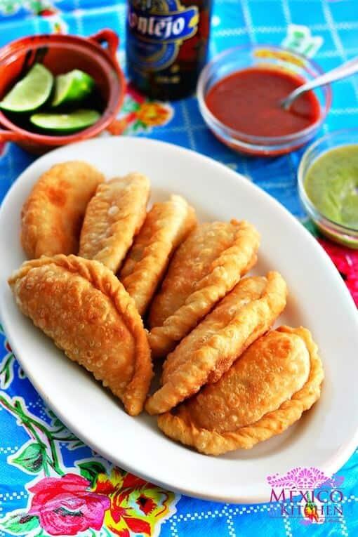 Empanadas de Jaiba estilo el Golfo de México