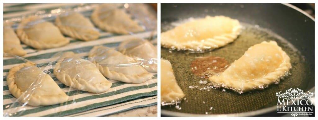 Empanadas de Jaiba o Cangrejo, versión casera