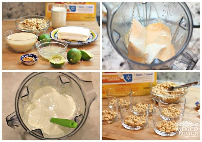 carlota de limón, instrucciones paso a paso