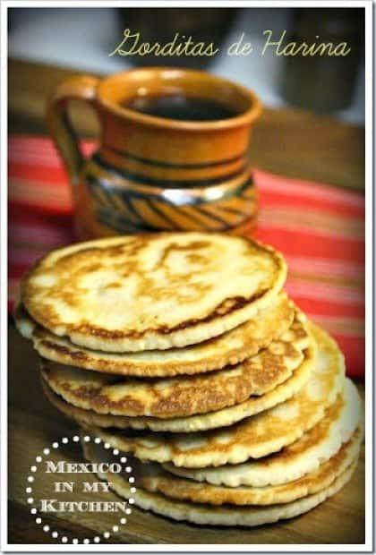 sigue este sencillo tutorial para preparar estas deliciosas gorditas de harina