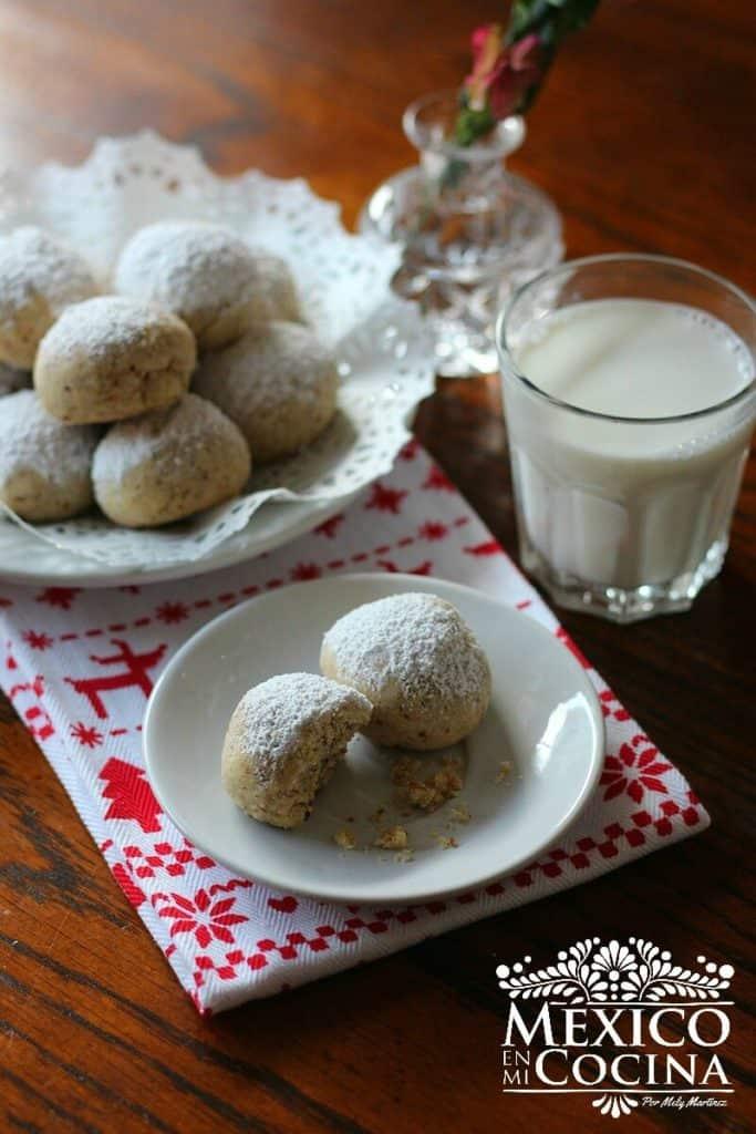 receta galletas nuez boda |Recetas Mexicanas