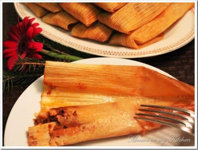 Tamales con Harina de Maíz. paso a paso con imágenes