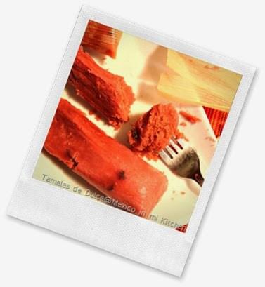 deliciosa receta, tamales de dulce
