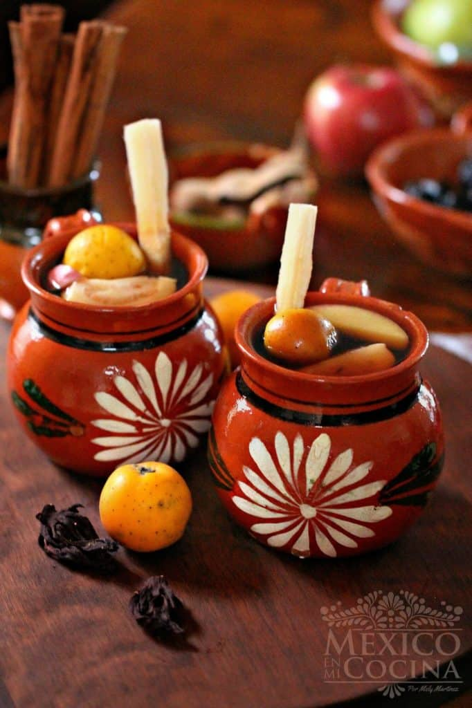 receta de ponche de frutas tradicional navideño mexicano 2 s