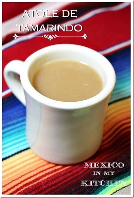 Atole de tamarindo | Recetas de comida mexicana