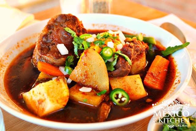 Mole de Olla | Recetas de comida mexicana