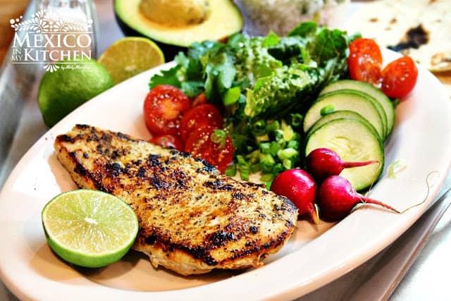 Pechugas de Pollo a la Plancha | Recetas de comida mexicana