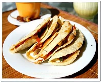 Quesadillas de masa de maíz | Mexico en mi cocina