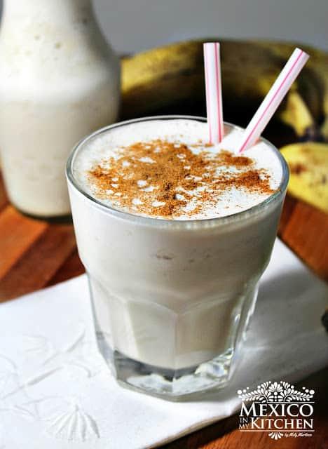 Licuado de Plátano | Recetas de cocina mexicana