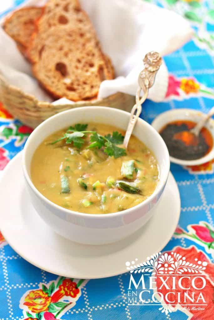 Crema De Habas Deliciosa Y Nutritiva Receta De Comida Mexicana