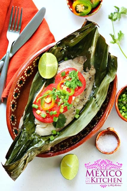 Filetes de pescado empapelados │ Recetas de comida mexicana
