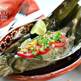 Receta Filetes de pescado empapelados