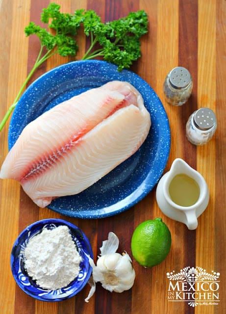 Filetes de pescado al mojo de ajo │recetas de comida mexicana